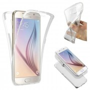 Coque Silicone Gel Integral Huawei P8 Lite Transparent Clipsable Protection