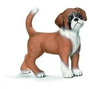 Schleich Puppy Boxer Toy Figure