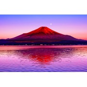 Yamanashi 10-738 - red Fuji reflected in a 1000 master piece of the puzzle water Aim (japan import)