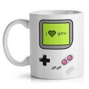Caneca Game Boy I Love You Joystick