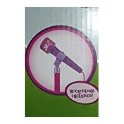 My Little Pony Karaoke Microphone Stand - Microphone Included. Connect Your Ipod/iphone or Mp3 Player & Sing Along
