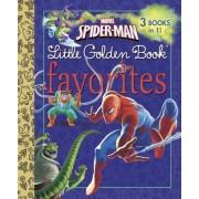 Marvel Spider-Man Little Golden Books Favorites by Billy Wrecks