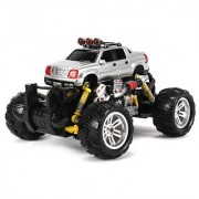 Cadillac Escalade EXT Electric RC Off-Road Monster Truck 1:18 Scale 4 Wheel Drive RTR Working Hinged Spring Suspension Perform Various Drifts (Colors May Vary)