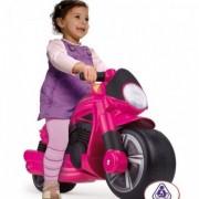 Motocicleta fara pedale Wheeler Roz Injusa
