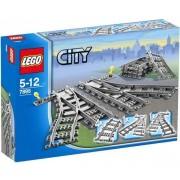 LEGO-7895 les aiguillages-