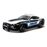Maisto 536203 - Modellino di Ford Mustang GT Police, scala 1:18