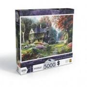 Grow Puzzle 5000 peças Jardim Vitoriano
