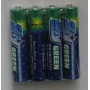 Комплект 4 броя батерии AAA 1.5V