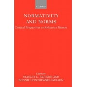 Normativity and Norms by Stanley L. Paulson