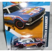 2012 HOT WHEELS '71 MAVERICK GRABBER SUPER SECRET TREASURE HUNT WITH RUBBER TIRES by Hot Wheels