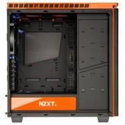 Boîtier PC H440 (noir/orange) moyen tour avec fentre latérale