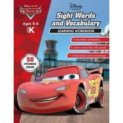 Disney Cars - Sight Words and Vocabulary Learning Workbook