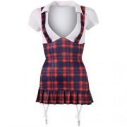 Sexy schoolmeisje outfit XL