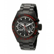 Invicta Watches Invicta Men's 19296 Speedway Black Ion-Plated Stainless Steel Bracelet Watch BlackBlack