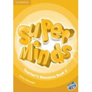 Super Minds Level 5 Teacher's Resource Book with Audio CD by Garan Holcombe