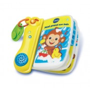 Vtech 143705 Early Learning 'Noé Prend son Bain' Book [French Language]