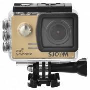 """SJCAM SJ5000X Sport Waterproof Action Camera w / 2.0 """"LCD, Wi-Fi, support 4K HD - Noir + or"""