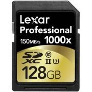 Card de memorie Lexar SDXC 1000x 128GB, UHS-II, 150MB/s (Clasa 10)