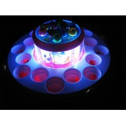Art box GO GO Fish Catching Electric Rotating Magnetic Fishing Game with Light