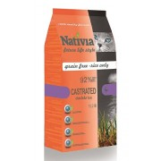 NATIVIA Cat Adult Castrated 1,5kg