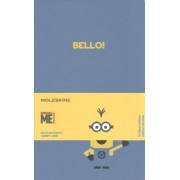 Moleskine Limited Edition Minions, Notebook, Large, Ruled, B29 Blue