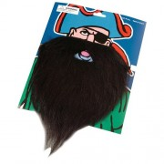 Fake Black Pirate Beard & Moustache Case Pack 16