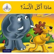 The Arabic Club Readers: Yellow Band:: What Did The Lion Eat? (Pack of 6) by Rabab Hamiduddin