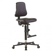 Hoge werkplaatsstoel Bimos Solitec - Op wielen
