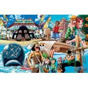 (1000 Pieces) One Piece - Sea Route (50Ã_5cm) Jigsaw Puzzle (japan import)