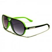 Biohazard heren zonnebril Vintage Green BZ136