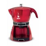 Cafetiera electrica pentru espresso, rosie