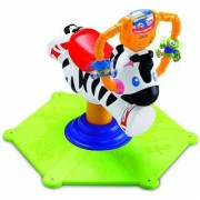 Fisher Price Bounce and Spin Zebra Multi Color