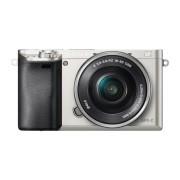 Фотоаппарат Sony Alpha ILCE-6000L, серебристый