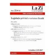 Legislatia privind evaziunea fiscala act. 1.03.2017