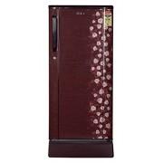 Haier 190 L 4 Star Direct-Cool Single Door Refrigerator (HRD-2105PRI-H, Red Iris)