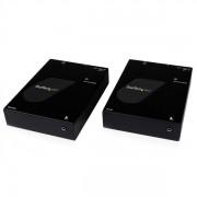 StarTech.com - Extensor Adaptador HDMI por Cable Fibra Óptica Multimodo SC con IR - Conversor Convertidor - 800m
