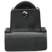 RollArounds Instant Wheels, Self-Adhesive, 250 lbs/Set, Black, 4/Set (18137)