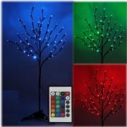 Novogodišnje svetleće drvo LED multikolor