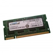 2Go RAM PC Portable Crucial CT25664AC667.K16F SODIMM DDR2 PC2-5300S 667MHz CL5