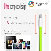 Micro Sync Charge Cables, Charging cord Magnet Cute Durable 3Ft Foot Feet 1M Meter Portable Travel Flat Micro USB 2.0 Data Sync Charging Cable Cord For Samsung Galaxy Note 2, Galexy S4, Galaxy S3, Galaxy S2, Galaxy Nexus, HTC One X, One S,Blackberry Z10,