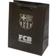 FC Barcelona ajándéktáska, 32x26x13cm, nagy