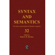 The Nature and Function of Syntactic Categories by Robert D. Borsley