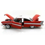 1958 Plymouth Fury, Red - Auto World Silver Screen Machines Christine AWSS102 - 1/18 scale diecast model car