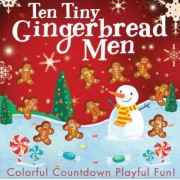 Ten Tiny Gingerbread Men by Tiger Tales