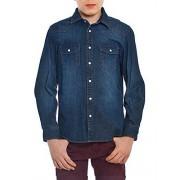 MEK 153Mhdc Camisa de niños, azul (148 stone wash), 6A (116 centímetros)