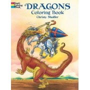 Dragons Coloring Book by Christy Shaffer