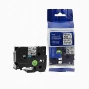 Brother TZ-251 / TZe-251, 24mm x 8m, černý tisk / bílý podklad kompatibilní