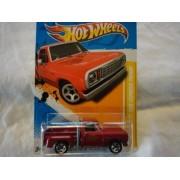 2012 HOT WHEELS NEW MODELS 1978 DODGE LI'L RED EXPRESS PICKUP 34/50, '78 LIL RED EXPRESS PICK-UP, DIE-CAST by Hot Wheels