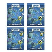 "Monsters University Reusable Glow In The Dark Sticker Book ""Monster Match"" (4 Pac K)"