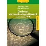 DICTIONAR DE TERMINOLOGIE LITERARA PENTRU CLASELE V-X.